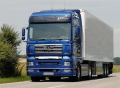 Услуги по перевозке грузов, международные,