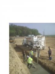 Concrete mobile plant Cementech 40m3/chas