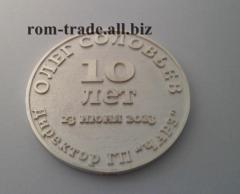 Coin from silver to order