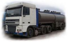 Перевозка нефтехимической продукции, нефтепродуктов, Днепр. Перевозка темных нефтепродуктов и опасных грузов