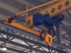 Delivery of frame cranes basic and suspended