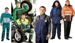 Tailoring of overalls Nikolaev, Tailoring of