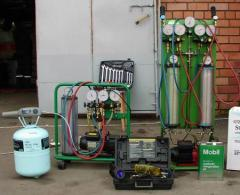Services of repair of conditioners