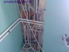 Монтаж систем водоснабжения в Кировограде (внутренних, наружных)