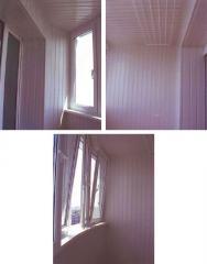 Обшивка балконов под ключ,  Киев,  Киевская...