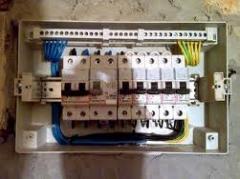 Laying of electrical wiring Kiev, Kiev region,