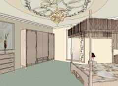 Дизайн-проект квартир гармоничный