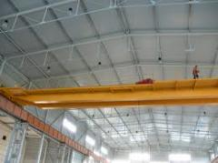 Installation of a subcrane way