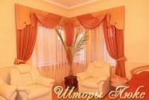 Индивидуальный пошив штор, гардин, ламбрекенов