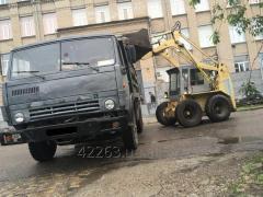 Export of construction debris Zaporizhia