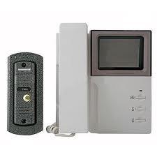 Установка индивидуальных видеодомофонов