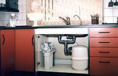 Системы очистки воды (обратный осмос) для квартир