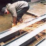 Cutting of metal rolling on preparations