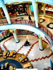 Illumination of trading floors, shops,