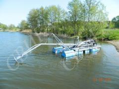 Shore protection works, Pass dredges the Carp 2
