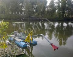 Pass dredges the Carp the city of Sumy