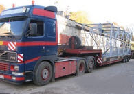 Transportation of the equipmen
