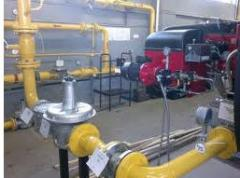 Service of the gas equipmen