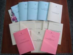Сборники законов, постановлений, актов, норм и