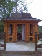 Construction of arbors, garden lodges, saunas,