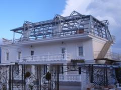 Construction of penthouses, Ukraine,