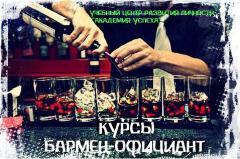 Бармен-официант. Курсы в Кировограде.