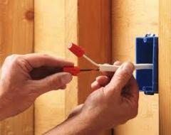 Repair of a household electrical wiring. Repair of