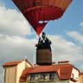 Полет на воздушном шаре над живописными просторами