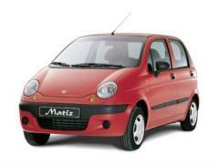 Car rental without driver of Daewoo Matiz