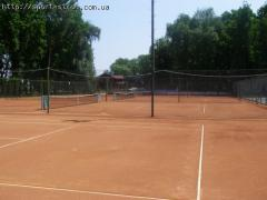 Reconstruction of tennis courts, all types of