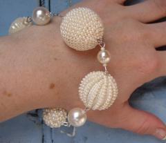 Haftowanie koralikami, ornament paciorkowy