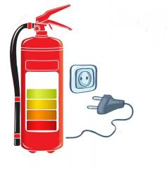 Recharge of fire extinguishers