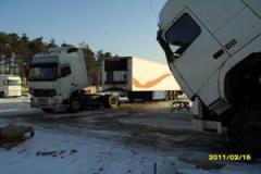 Diagnostics and repair of electric part of trucks