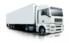 Services of automobile freight transportation by