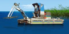 Очистка водоемов,  доков и пристаней