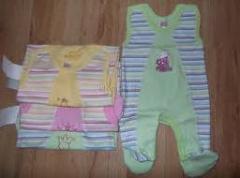 Одежда детская, трикотажные изделия для детей