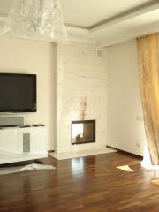 Individual selection of a fireplace