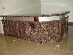 Laying of marble floors, laying of granite floors