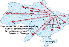 Logistics of the motor transport Kharkiv, Ukraine