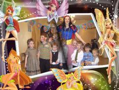 Организация дня рождения - БЕЛОСНЕЖКА (2-12 лет)