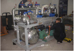 Production of refrigeration equipmen