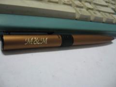 Гравировка ручек, нанесение гравировки на ручки.