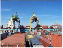 Receiving freights, storage and sorting of