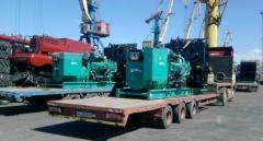 Перевозка,  доставка промышленного оборудован