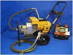 Repair of units and equipment. Repair of painting
