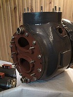 Repair of a turbocompressor of TK-18,TK-23 on