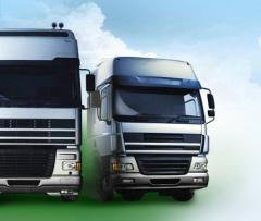 Services in transportation of goods.