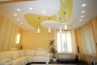 Гипсокартонные конструкции потолков