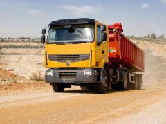 Cargo transportation dump trucks
