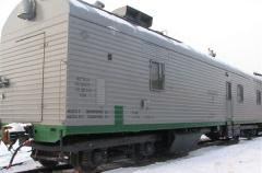 Giving of a rolling stock for loading in Ukraine